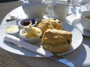 Cream Tea at Shelly's Tea House